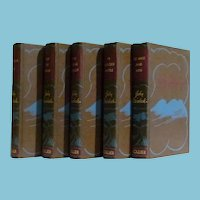 Set of Hardcover John Steinbeck 1930 +