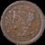 1853 Large Cent AU Braided Hair