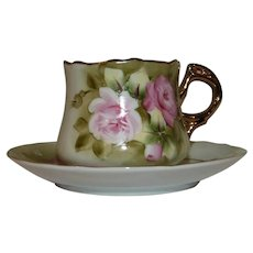 1940+  Lefton Demitasse Cup and Saucer