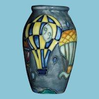 1999 Moorcroft Vase Philip Gibson, Designer Limited Edition 392/400