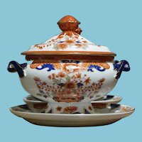 ca  1960's Set Mottahedeh Soup Tureens