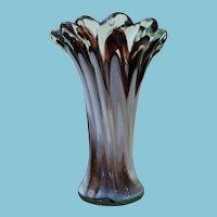 C 1960 Murano Art Glass Vase
