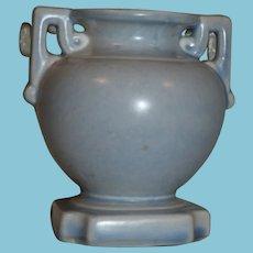 ca 1940+ Stangl Art Deco Vase in Pastel Blue