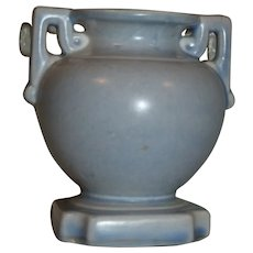 ca 1940+ Stangl Art Deco Vase in Pastel Blue