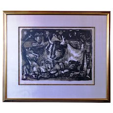 Big Antoni Clavé Limited Edition Guernica Homage Friend of Picasso from Catalan