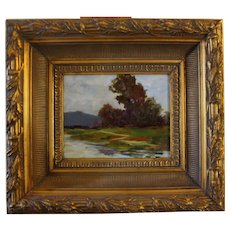 """Baylands"" , Exceptional Framed Oil Painting By Plein Aire Artist, Mike Eros"