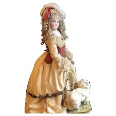 Heart stopping Exhibition Portrait jumeau French doll