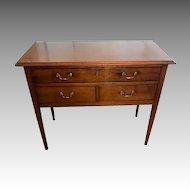 Antique 18th Century George III Mahogany Lowboy Table