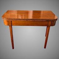 Antique 18th Century George III Mahogany Tea Table