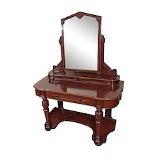 Antique 19th Century Victorian Dressing Table or Vanity