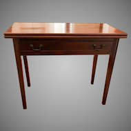 Antique 18th Century Philadelphia Chippendale Card Table