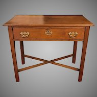 Antique 18th Century George III Mahogany Writing Table