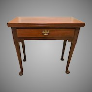 Antique 18th Century George II Mahogany Card Table
