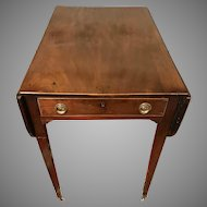 Antique 18th Century George III Mahogany Pembroke Table