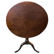 Antique 18th Century George III Tilt-top Table