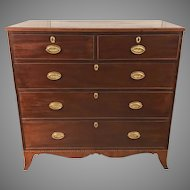 Antique 18th Century George III Mahogany Chest of Drawers
