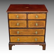 Antique 19th Century George III Mahogany Chest of Drawers