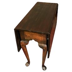 Antique 18th Century George II Mahogany Drop-leaf Table