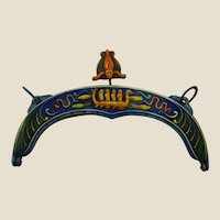 1900/15's Great Egyptian revival celluloid purse frame
