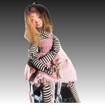 Pippi Longstocking. Collectible doll