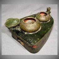 Ancient Chinese Ceramic Stove Model, Eastern Han Dynasty