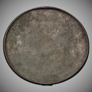 Ancient Chinese Silver Inlaid Bronze Mirror Tang Dynasty 618-907 AD