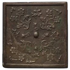Ancient Chinese Bronze Mirror Tang Dynasty 618-907 AD