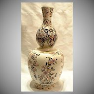 Antique French Faience Vase, 19th century