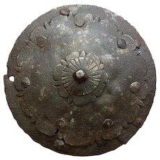 Antique 17th c Top of the Polish Hussar Karacena Helmet Szyszak