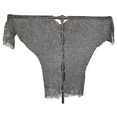 Antique Medieval 14t/15th Century European Knight Chain Mail Shirt Hauberk Armour