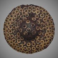 Antique 17th Century Turkish Ottoman Islamic Shield Buckler Kalkan