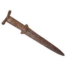 Rare Ancient Scythian Short Sword Dagger Akinakes Acinaces Akinak 6th - 5th century B.C.