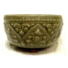 Antique Southeast Asian Celadon Censer, 14th - 17th century