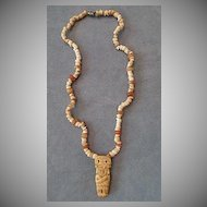 Antique Pre-Columbian circa 500 - 1500 AD Tairona Culture Necklace