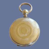 Gold Tone Small Vintage Locket  1920 - 1930
