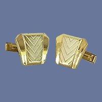 Silver Tone Gold Tone Cuff Links Cufflinks