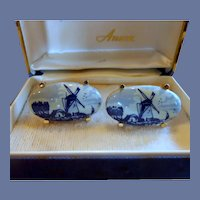 Anson Genuine Delft Cufflinks Cuff Links