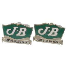 JB Jones Blair Paint Cufflinks Cuff Links