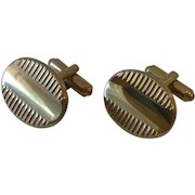 Silver Tone Mr. Tara Cufflinks Cuff Links
