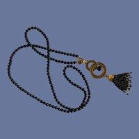 """Chandelier Tassel Vintage Avon Necklace 22"""""""