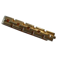 Swank Chain Link Tie Bar