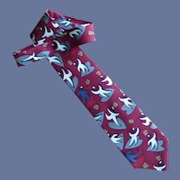 """She Loves You"" Beatle Silk Dress Tie"