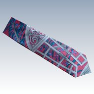 """Strawberry Fields Forever"" Beatle Silk Dress Tie"