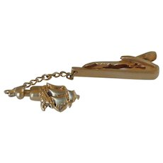 Hickok Tie Bar with Ship Stick Pin