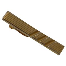 Hickok Gold Tone Tie Bar Clip
