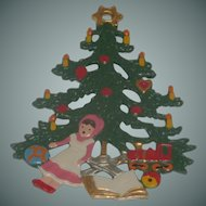 Christmas Tree and Toys Pendant