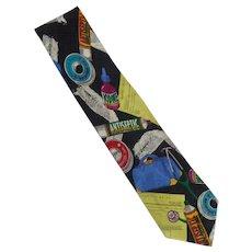 Addiction Novelty Tie  Doctor Tie
