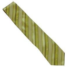 Austico Apparel Kangaroo Lime Green Silk Tie –