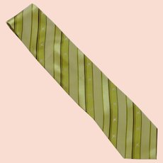 Austico Apparel Kangaroo Lime Green Silk Tie –