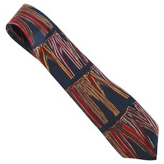 NKWR Novelty Pajama Bottom Silk Tie